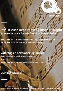 Affiche Kleine Orgelmesse